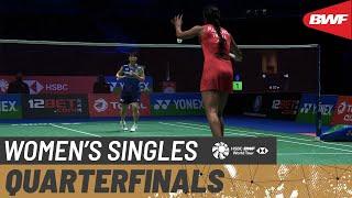 【動画】山口茜 VS P.V.シンドゥ 全英オープン2021 準々決勝