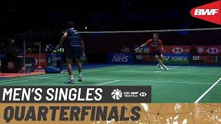 【動画】タンマシン・シティケート VS ビクター・アクセルセン 全英オープン2021 準々決勝