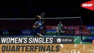 【動画】奥原希望 VS ブサナン・オングブンルングパン 全英オープン2021 準々決勝