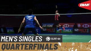 【動画】桃田賢斗 VS リー・ジージア 全英オープン2021 準々決勝