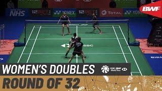 【動画】クロエ・バーチ/ローレン・スミス VS アシュウィニ・バットK./シーカ・ガウタム 全英オープン2021 ベスト32