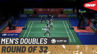 【動画】モハマド・アッサン/ヘンドラ・セティアワン VS ベン・レーン/ショーン・ヴェンディー 全英オープン2021 ベスト32