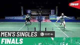 【動画】ビクター・アクセルセン VS クンラブット・ビチットサーン スイスオープン2021 決勝