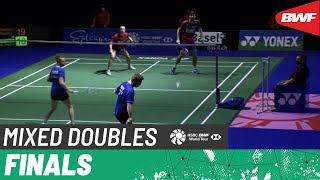 【動画】トム・ギックル/デルフィン・デルリュ VS マシアス・クリスチャンセン/アレキサンドラ・ボイエ スイスオープン2021 決勝