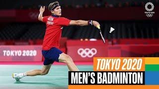 【動画】ビクター・アクセルセン VS 諶龍 東京2020(2021)オリンピックバドミントン 決勝戦