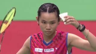 【動画】ニッチャオン・ジンダポル VS 戴資穎 YONEXオープン中国台北 準決勝