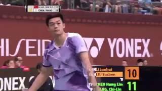 【動画】李俊慧 VS 陳宏麟 YONEXオープン中国台北 決勝