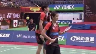 【動画】・陳清晨 VS タン・キアン・メング・ライ・ペイジン YONEXオープン中国台北 決勝