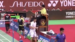 【動画】イスカンダー・ズカーネイン・ザイナディン VS 周天成 YONEXオープン中国台北 準決勝