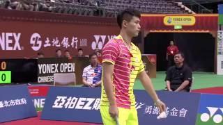 【動画】タノンサック・サエンソンボーンスク VS キャオ・ビン YONEXオープン中国台北 準決勝