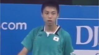 【動画】奈良岡 功大 VS クンラブット・ビチットサーン バドミントンアジアジュニア選手権2015 決勝