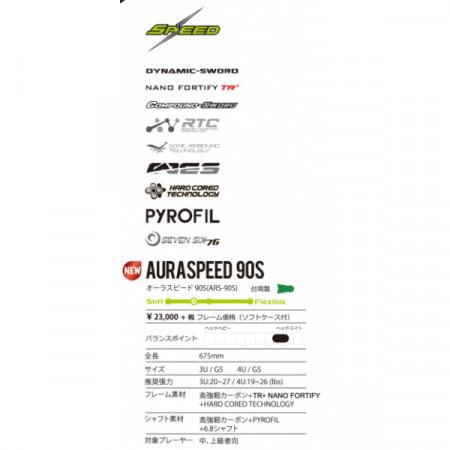 オーラスピード 90S/AURASPEED 90S